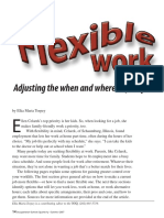 04  flexible work adjusting the when and where of your job