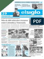 Edicion Impresa El Siglo 29-02-2016