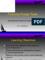 Foreign Trade Financing.stbanking notes.ppt