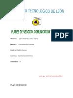Planes de Negocio, Comunicacion y Accion