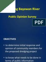 Dredging_Public Opinion Survey