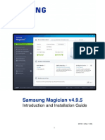 Samsung Magician 495 Installation Guide
