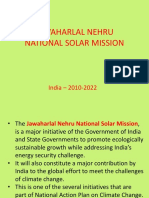 Indian National Solar Mission