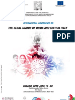 The Legal Status of Roma and Sinti in Italy