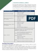 Libros y Registros Contables -Tributarios