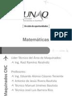 1M2 Matemáticas