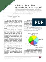 FI_Asset Backed Securities - Guide Pratique Pour Investisseurs [SG]