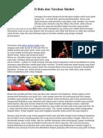 Teknik Menang Judi Bola dan Taruhan Sbobet