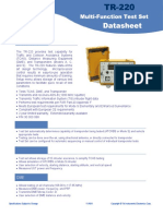 TIC Tel Instruments TR 220 Transponder TCAS DME ADS B Test Set AvionTEq