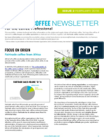 Fairtrade Coffee Newsletter Issue 2 February 2016