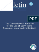 397 2005 FOC the Codex General Standard for the Use of Dairy Terms Its Nature Intent and Implications