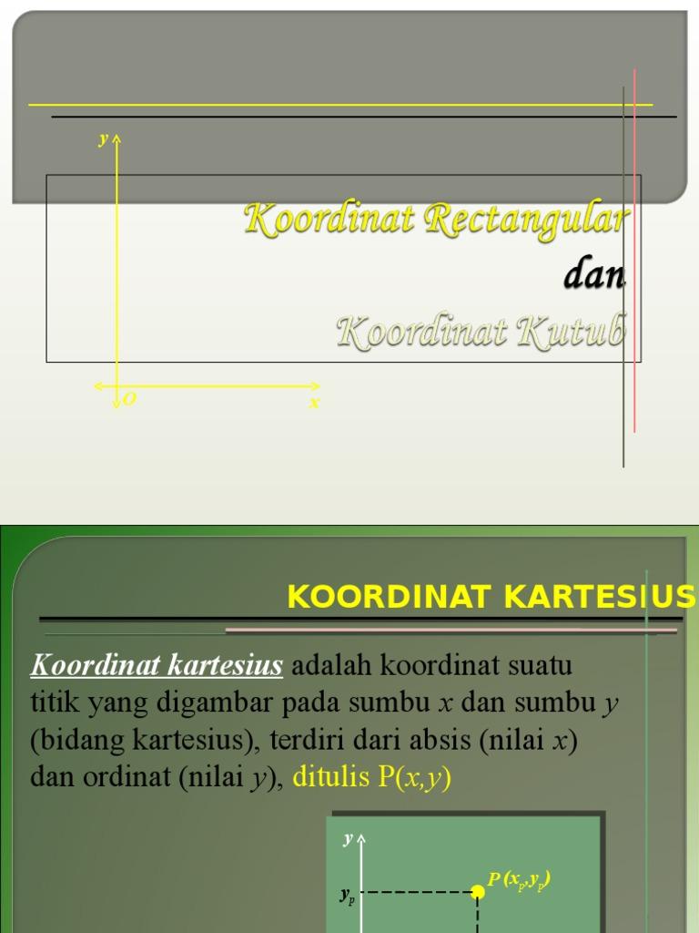 Sistem koordinat rectangular ccuart Choice Image