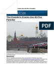 The Kremlin's Cracks Are All-Too Familiar