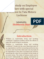 A Brief Study on Employee Welfare With Special Reference to Tata Motors Lucknow
