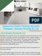 Engineered Timber Flooring Specialist Ramsgate Simplay Flooring Pty Ltd