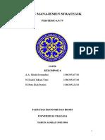 Manajemen Strategik (TABEL ANALISIS FAKTOR STRATEGIS EKSTERNAL PERUSAHAAN (EFAS))