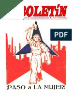 Boletin del Ateneo Paz y Socialismo de marzo de 2016