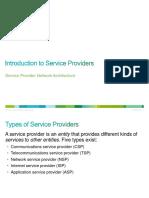 1. Intro to Service Providers