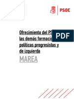 Oferta do PSOE a En Marea