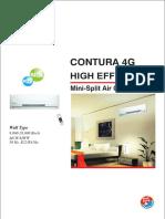 Highwall Split Ac Contura 4g