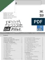 DCC 51978 LokPilot V30 Familie ESUKG US Users Manual Edition 6 01