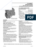 C11 and C13 Industrial Engines-Maintenance Intervals | Belt