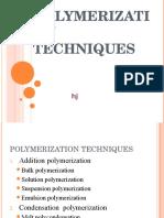 polymerizationtechniques