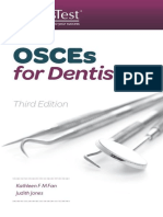 OSCEs for Dentistry Third Edition