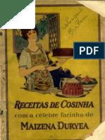 Receitas Cosinha Maizena