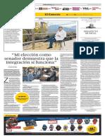 Yolanda Vaccaro El Comercio Pio Zelaya Senador Peruano España