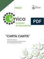 UNICO Carta Dei Servizi DEF
