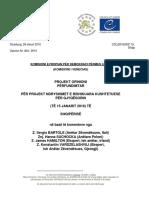 Rekomandimet e Komisionit të Venecias për reformën në drejtësi