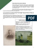Joseph Oswald Wilcoxon 1893-1916