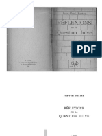 Jean-paul Sartre - Réflexions Sur La Question Juive