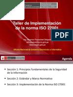 Seguridad de La Info 27001