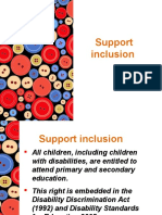Support Inclusion