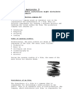 Evaluation Activity 3