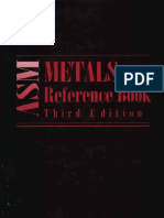 ASM Metal Reference Book 3rd Edition