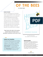 Hour of the Bees by Lindsay Eagar Discussion Guide