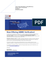 ABMS Data Sharing With FSMB