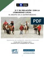 Libro El Turismo y Su Relacion Con La Comunidad Local