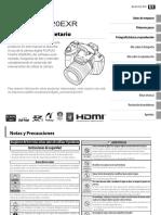 Manual de usuario FujiFilm HS20EXR