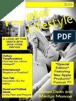 teen magazine 1950 - 2015