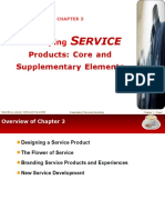 Chapter 3 Developing Service Products Core and Supplementary Elements