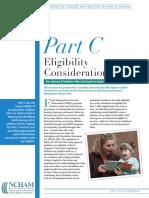 part c eligibility