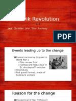 bolshevik revolution  1