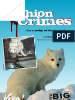 The cruelty of the fur industry