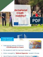 International Credit Mobility