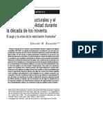 BASUALDO - Las Reformas Estructurales y El Plan de Convertib