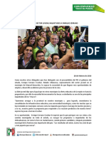 2016-02-28 Planea Sector Juvenil Inquietudes a Enrique Serrano